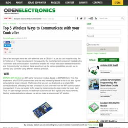 Top 5 Wireless Ways to Communicate with your Controller
