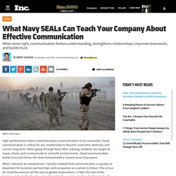 How to communicate like navy seals and increase profits