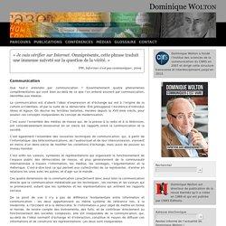 Communication - Dominique WOLTON