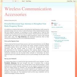 Directional Yagi Antennas