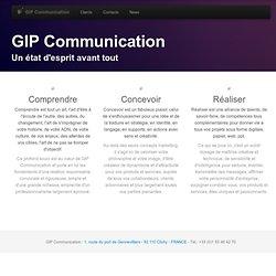 GIP Communication : agence conseil en communication