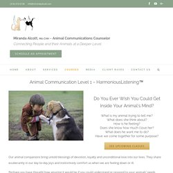Excellent Animal Communication Counseling in Albuquerque