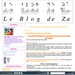 méthode PECS / communication alternative - Le blog de Za
