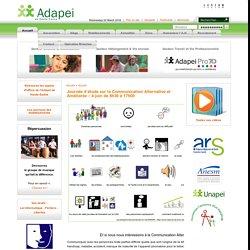 ADAPEI70 - Journée d'étude sur la Communication Alternative et Améliorée – 4 juin de 8h30 à 17h00