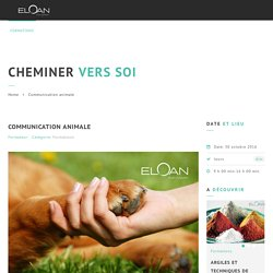 Communication animale – Centre Eloan