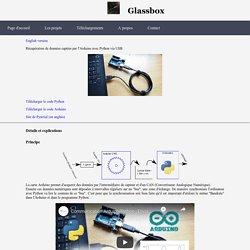 Communication série entre Arduino et Python - Glassbox