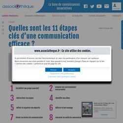 Ebook - Quelles sont les 11 étapes clés d'une communication efficace ?