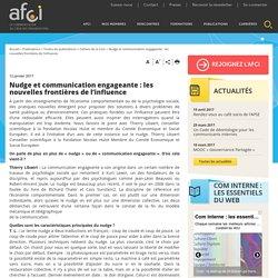 Nudge et communication engageante : les nouvelles frontières de l'influence - Association Française Communication Interne