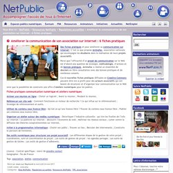 Améliorer la communication de son association sur Internet : 6 fiches pratiques