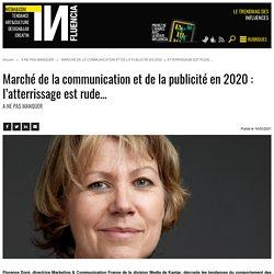 Marché de la communication et de la publicité en 2020 : l'atterrissage...