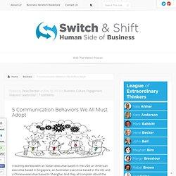 5 Communication Behaviors We All Must Adopt