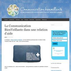 La Communication BienVeillante dans une relation d'aide