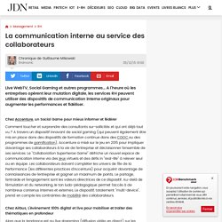 La communication interne au service des collaborateurs