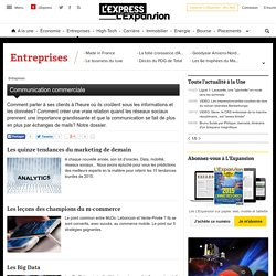 Communication commerciale - L'Express L'Expansion