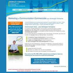 Conseil en stratégie marketing et communication commerciale pour les TPE, PME et PMI