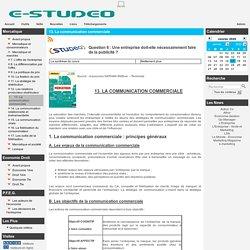 Studeo - 13. La communication commerciale