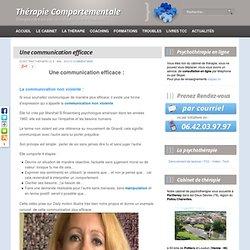 Communication efficace, communication non violente, thérapie comportementale