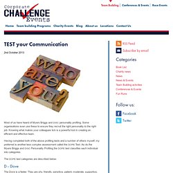 TEST your Communication
