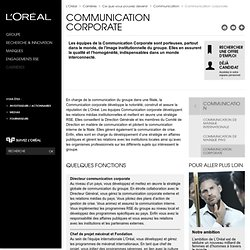 Communication corporate - Communication