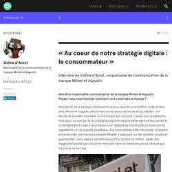 La stratégie de communication de Michel et Augustin - Digitalisations