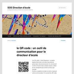 le QR code : un outil de communication pour le directeur d'école