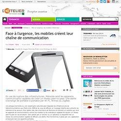 Face à l'urgence, les mobiles créent leur chaîne d