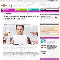 Les réseaux sociaux & la communication de crise ??