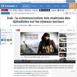 Irak : la communication très maîtrisée des djihadistes sur les réseaux sociaux