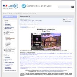 Communication / RH - Économie Gestion en lycée
