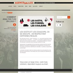 COMMENT ANALYSE-T-ON UN LOGO ? - Agence Galilée, Communication éditoriale et visuelle - Agence Galilée, Communication éditoriale et visuelle