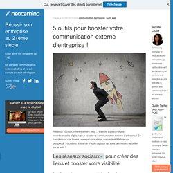5 outils pour booster votre communication externe d'entreprise! par Neocamino