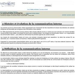 La communication d entreprise - DURAND Anthony, DARTIGUES Stéphane et ROCHE Gaëtan
