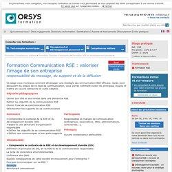 Formation Communication RSE : valoriser l'image de son entreprise