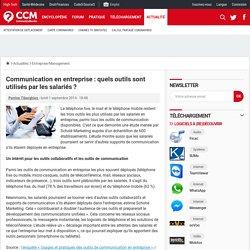 Communication en entreprise : quels outils sont utilisés par les salariés ? - Comment Ça Marche