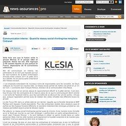 Communication interne : Quand le réseau social d'entreprise remplace l'intranet