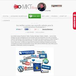 Les médias sociaux une nouvelle aubaine pour la communication d'entreprise !