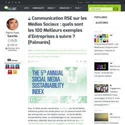 Communication RSE sur les médias sociaux : les entreprises à suivre