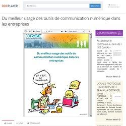 ⭐Du meilleur usage des outils de communication numérique dans les entreprises