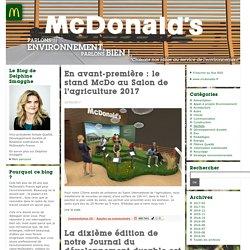 communication : McDonald's Environnement, faites le tour des initiatives écologiques de McDonalds