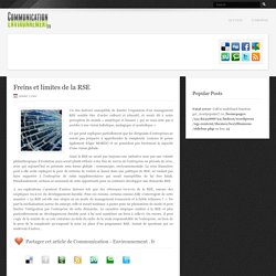 Communication & Environnement - Le magazine