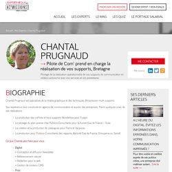 Chantal PRUGNAUD - Pilotage de supports de communication - L'Experthèque