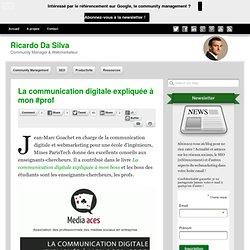 Communication digitale expliquée à mon #prof