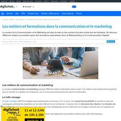 Communication et Marketing - Métiers et Formations