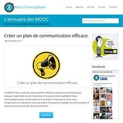 MOOC Créer un plan de communication efficaceMooc Francophone