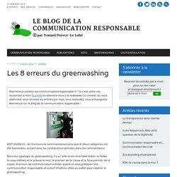 Les 9 erreurs du greenwashing « Responsable de communication responsable