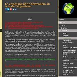 9-Communication hormonale - Site de cours de collège et lycée en SVT