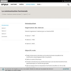 Espace Profs - Corpus - réseau Canopé
