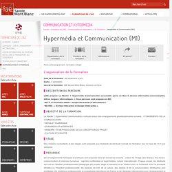 Communication et Hypermédia - Hypermédia et Communication (M1) -