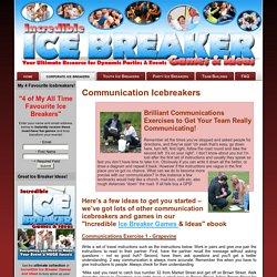 Communication Icebreakers