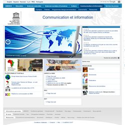 UNESCO Communication et Information